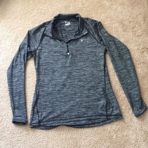 Active wear light pull over jacket